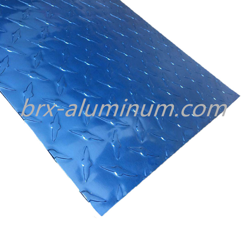 Customized patterned aluminum sheet