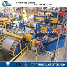 Automatic Steel Coils Slitting Line, Metal Sheet Cut And Slitting Machine