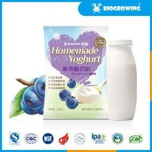 Sabor de arándano bifidobacterium yogur