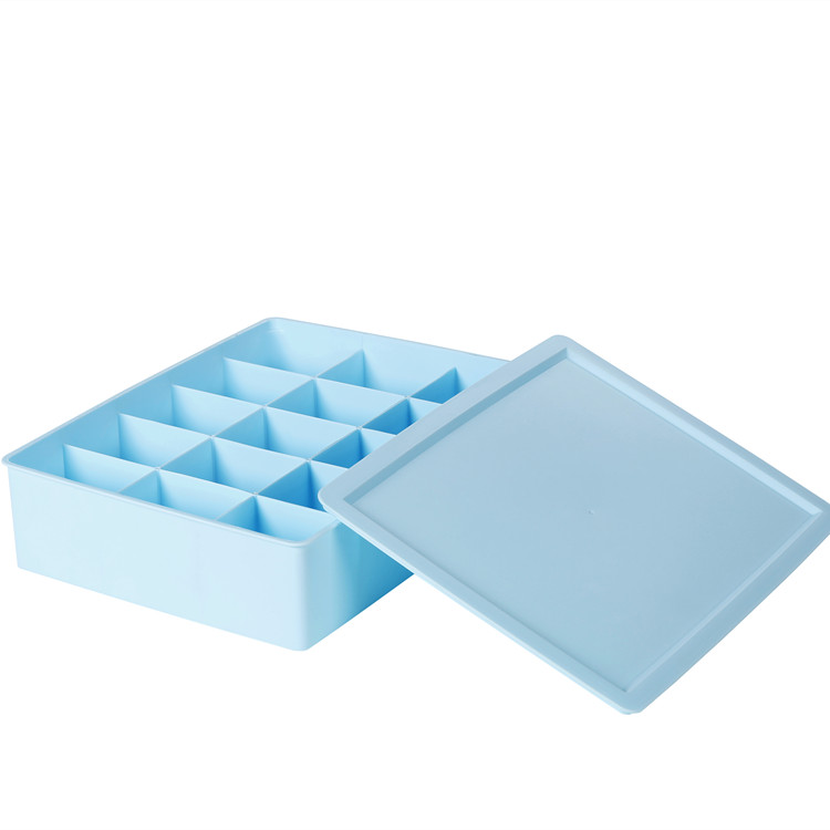 plastic sock box