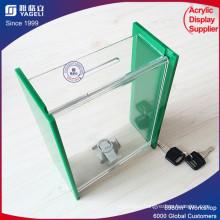 New Design Low Price Donation Money Boxs