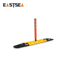 With Plastic Recovery Post Road Divider System Road Safety