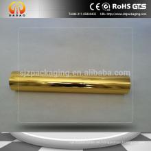 12mic Golden Aluminium Metallisierte Pet Film für Pappe