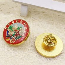 Custom Button Badge with Safe Pin for Promotion