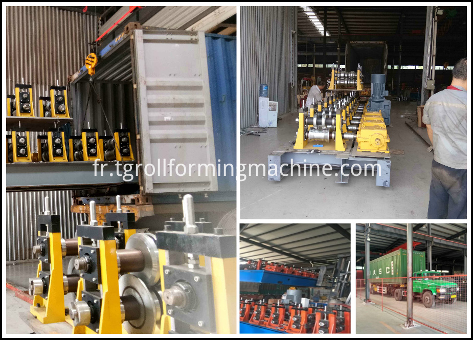 Electric Box Roll Forming Machine