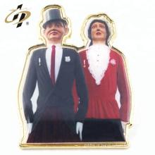Pinos feitos sob encomenda do emblema do esmalte do cloisonne do metal da liga de zinco relativa à promoção
