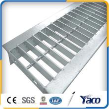 Precio de fábrica tipo GU cubierta de la zanja de rejilla de acero
