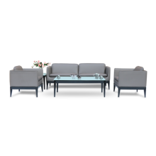 Dious Modern office sofa with stainless legs,leisure sofa,executive office sofa