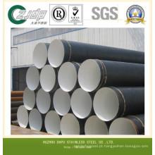 Tubo de aço inoxidável / tubo 201 304 316 430 De: 63.5mm