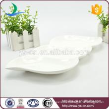 Plat plat en céramique moderne en gros