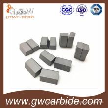 Inserções soldadas do carboneto de tungstênio / pontas