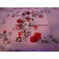 Cheap T / C 50/50 Jacquard planície tingido e impresso folha de cama