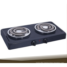 Stainless Steel Portable Double Burner Electric Coil Stove