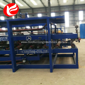 Steel sandwich panel roof sheet wall roll forming machine