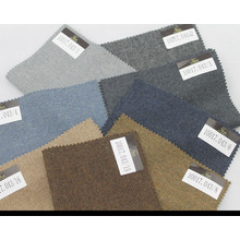 hecho a medida de lana lisa / tela de cachemira para la ropa