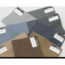 fabriqué sur mesure en tissu laine / cachemire uni pour les vêtements