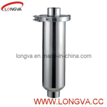 Stainless Steel Sanitary Straight-Line Pipe Strainer