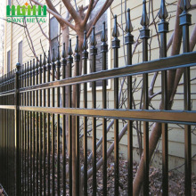 Zink Steel PVC Coated Iron Picket Besi Pagar