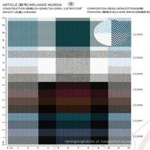 100% algodão tecido pano material tecido tecido de camisa masculina