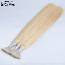 No Shedding No Tangle Silky Straight Blonde Virgin Cuticle Human Hair Bulk