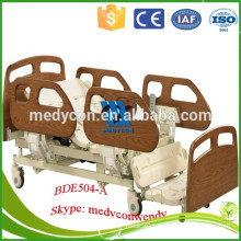electrical equipment and three functions hospital chair bed