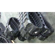 Silla de ruedas pequeña pista de goma para vehículos máquinas.