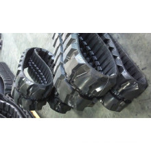 Small wheel chair rubber track for vehicles machines