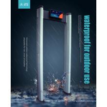 Detector de metais de 6 zonas por meio de metais