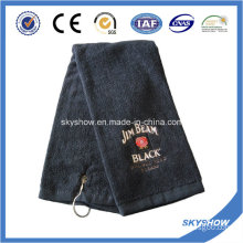 100% Cotton Embroidered Golf Towel (SST1021)