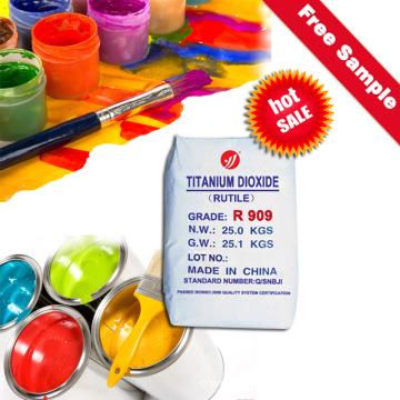 Двуокись титана для бумаги (R909)