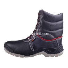 Smooth Leather/PU Outsole Safety Boots