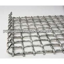 Malla de alambre prensada de acero inoxidable (fabricante)