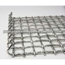 Aço Inoxidável Prensado Wire Mesh (Fabricante)