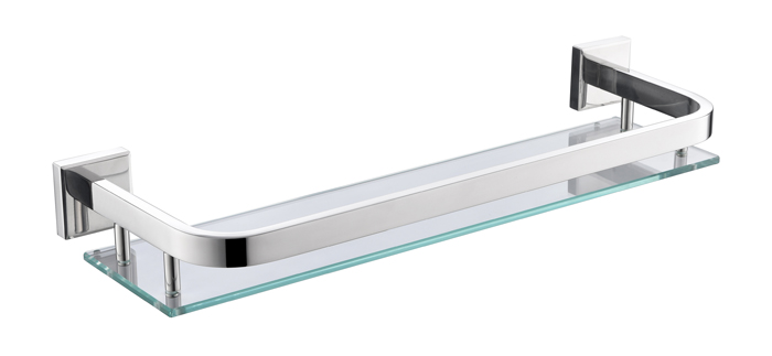 Hn 8707a Stainless Steel Mirror Polish Bathroom Fitting Shelf