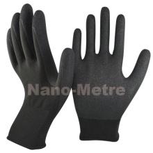 Nmsafety 13G Nylon beschichtetes Sandy-Nitril-Anti-Rutsch-Arbeitshandschuh
