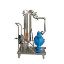 Máquina química de filtro de operação simples de pequeno volume