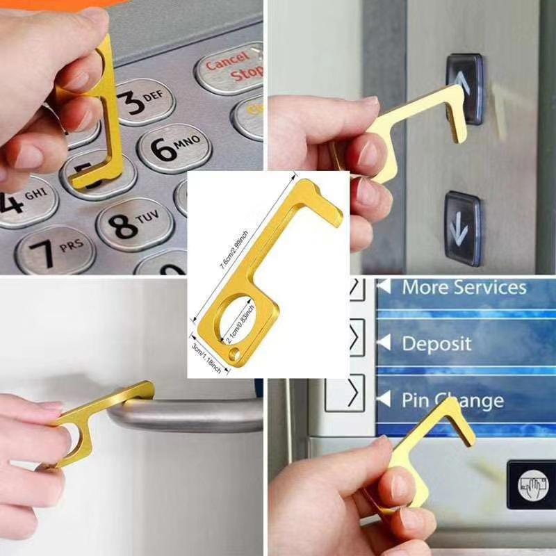Contactless Door Opener Keychain