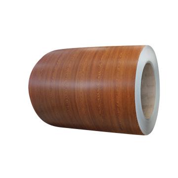 деревянный рисунок из предварительно окрашенной стальной катушки