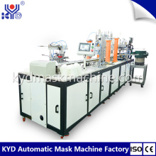 Masque facial FFP2 de tasse jetable faisant la machine