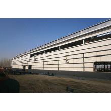 Cadre en acier préfabriqué Assembler entrepôt / atelier