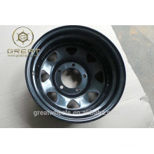 Powder spray 13x4.5J agricultural trailer wheels