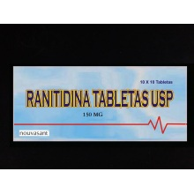 BP/USP de ranitidina tableta 150mg