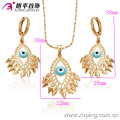 63010-Xuping Wholesale 18K Gold Copper Alloy Jewelry Set
