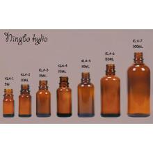 5ml 10ml 20ml 50ml 100ml Verre bouteille d'huile essentielle ambre vide (klc-5)