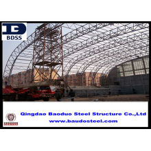 Gb50205-2001 Steel Structure Warehouse With Anti-corrosion Coating