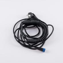 M15 female spring wire harness