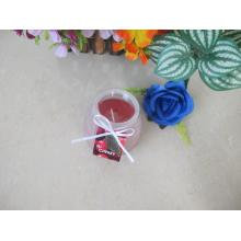 230g Smokless Frosted Glass Candle