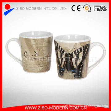 Wholesale Fine Porcelain Mug with Beautiful Decal