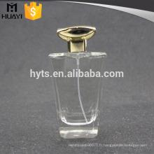 En gros clair bouteille de parfum 100 ml verre
