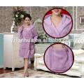 Peignoir à capuchon de style New flanelle pour les femmes